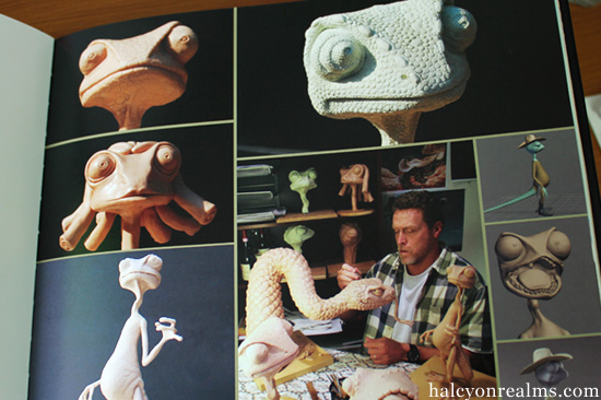 The Ballad Of Rango Art Book