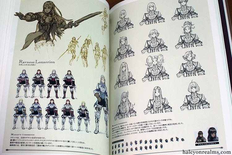 Tactics Ogre Art Works - Square Enix Art Book