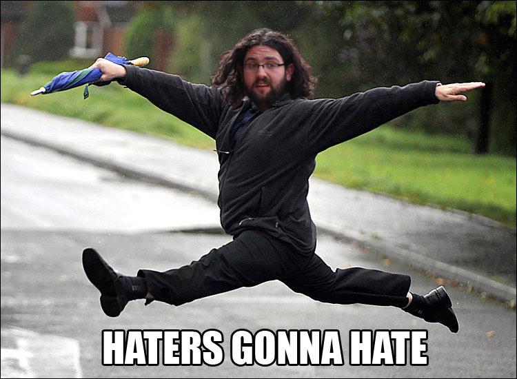 Aaron Jorbin - Haters Gonna Hate (by Helen)