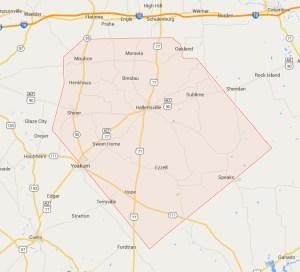 Lavaca_county_map_google.com