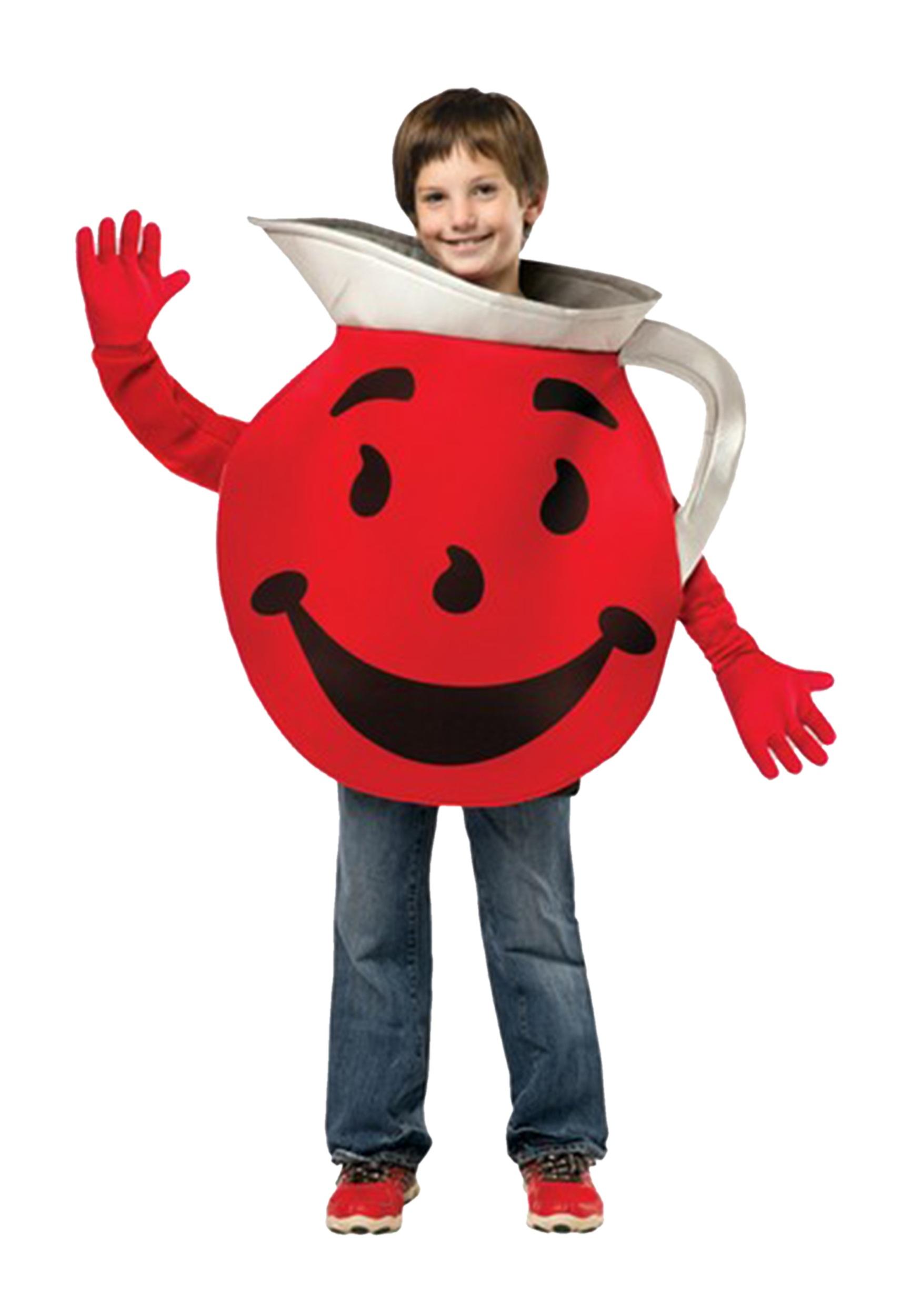 Contemporary Teen Costume Teen Costume Halloween Costumes Kool Aid Man Oh No Kool Aid Man Pitcher nice food Kool Aid Man