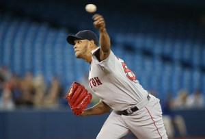 Eduardo Rodriguez delivers a pitch during the first inning of a game against the Toronto Blue Jays at Rogers Centre on June 30, 2015 (Tom Szczerbowski/Getty Images)