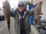 3月7日(土)マゴチ平均に釣れて14人で60本絶好調!