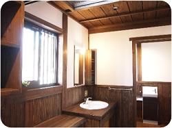 """造り付け家具の画像""""washroom"""""""