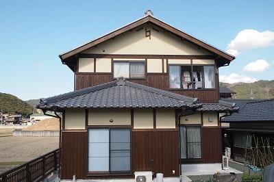 """宇和島新築の瓦屋根の画像""""new-tsushima2-6"""""""