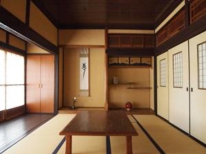 """古民家再生した鬼北町内の家1の画像""""old-kihoku1"""""""