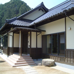 """リフォームした鬼北町内の家の画像""""renova-kihoku1"""""""