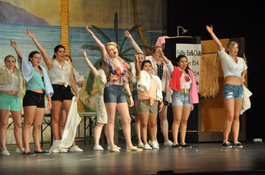 East Hampton High School's South Pacific