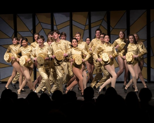 Pierson..Chorus Line Nominated for OUTSTANDING ENSEMBLE