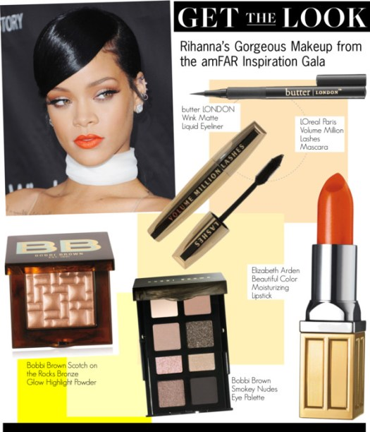 Get The Look-Rihanna's Gorgeous Makeup