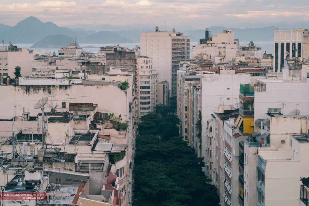 street in rio de janeiro brazil