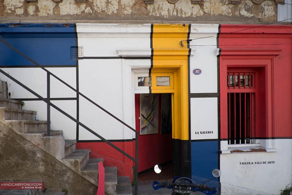 modrain inspired shopfront valparaiso chile