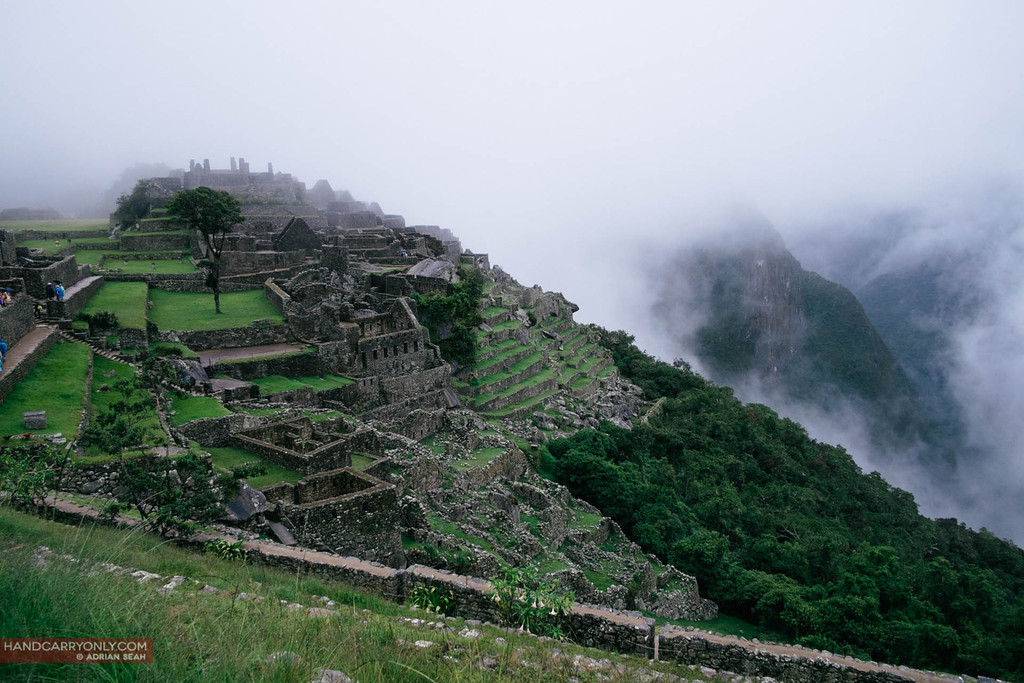 wet and cloudy macchu picchu peru