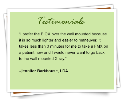 BIOX Portable Handheld X-Ray Unit Testimonial 3