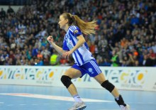 Radmila Petrovic avec Buducnost (Photo : www.handballme.me)