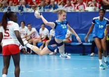 pauline robert - Pivot - FRA TUN - Mondial 2016 U20 F