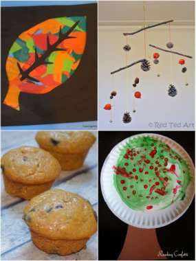 4 Fall Crafts