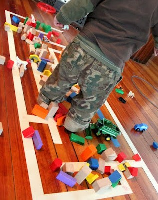 activity with blocks