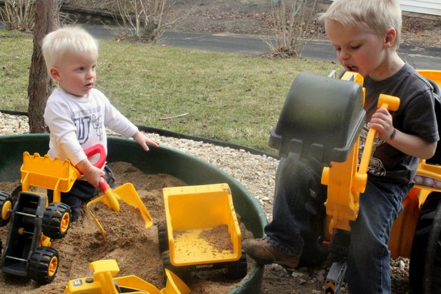 Sandbox Digging