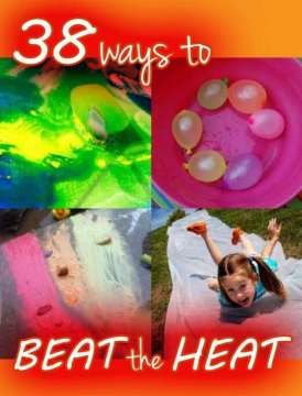 Ice & Water Activities: 38 Ways to Beat the Heat