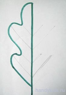 Рисуем симметричную фигуру