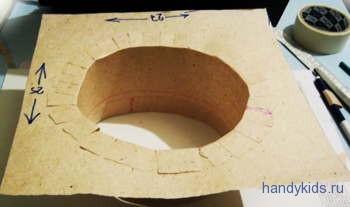 Конфедератка из картона своими руками 40