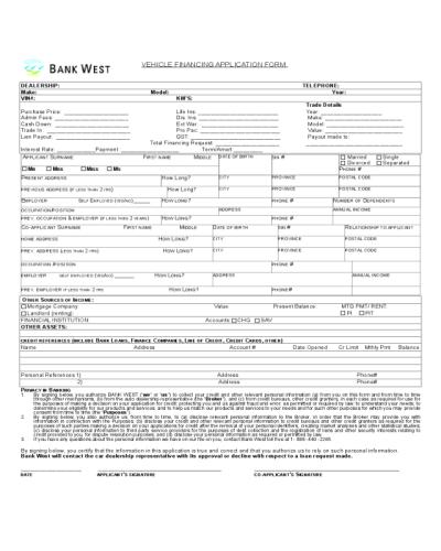 Bank Loan Application Form. loan application form by mj. nbp application form for youth loan ...