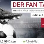 Fan Tarif 2016 + Allnet + 1,5GB + Smartphone nur 19,48€ mtl.