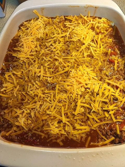 Cheese Enchiladas with Chili Gravy - Hangry Fork