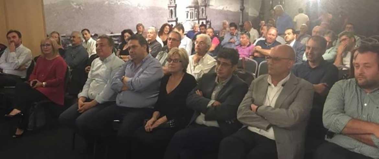 Στη συνεδρίαση του Περιφερειακού Συμβουλίου Κρήτης του ΚΙΝΑΛ ο Βάμβουκας