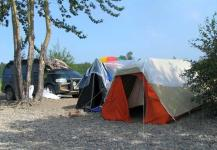 Несмотря на обилие баз отдыха, возникших по берегам Ханки, многие жители и гости района предпочитают отдыхать «дикарями»