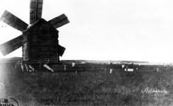 Мельница в с. Астраханка. Фото 1876 года, автор – купец второй гильдии В. Ланин