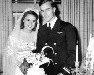 George-and-Barbara-Bush-wedding