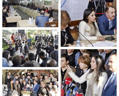 Conferencia en el High Council of Civil Society Organizations en Kurdistán.