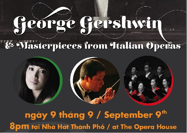 Gershwin and masterpieces from Italian opera