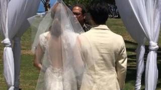 元AFTERSCHOOLのカヒ、ハワイで結婚式。インスタに写真掲載