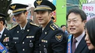 兵役中の東方神起チャンミン、SUPER JUNIORシウォンの近況が公開