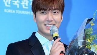 イ・ミンホ、「2015 韓国観光のスター」授賞式で功労賞を受賞