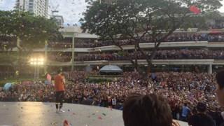 イ・ミンホ、フィリピンで広告プロモーションイベントに2万人が殺到