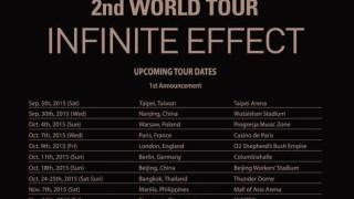 INFINITE、9月上旬の台湾公演を皮切りにワールドツアーを開催