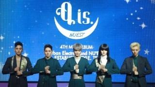 NU'EST、ソウルにてアルバム「Q is.」発売記者会見&ショーケース開催