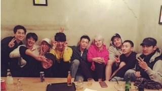 ウニョクの入隊パーティにSUPER JUNIOR、EXO、SHINee、東方神起集結