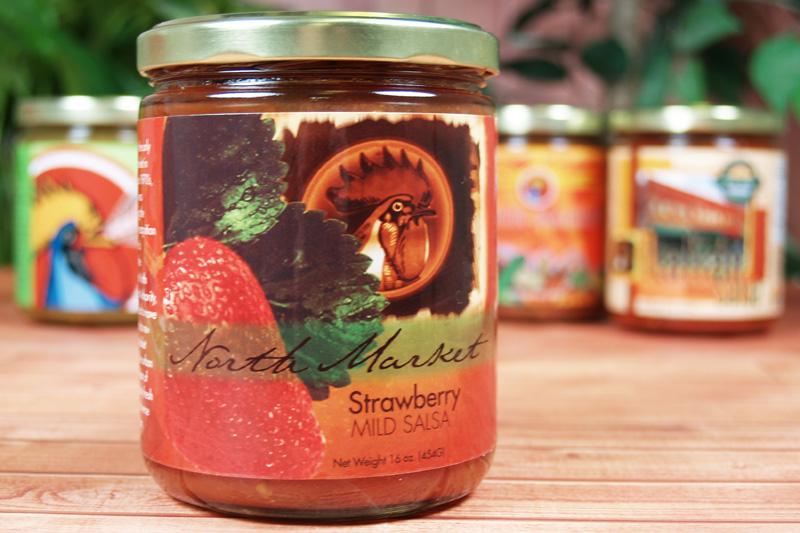 CaJohn Strawberry Salsa Label