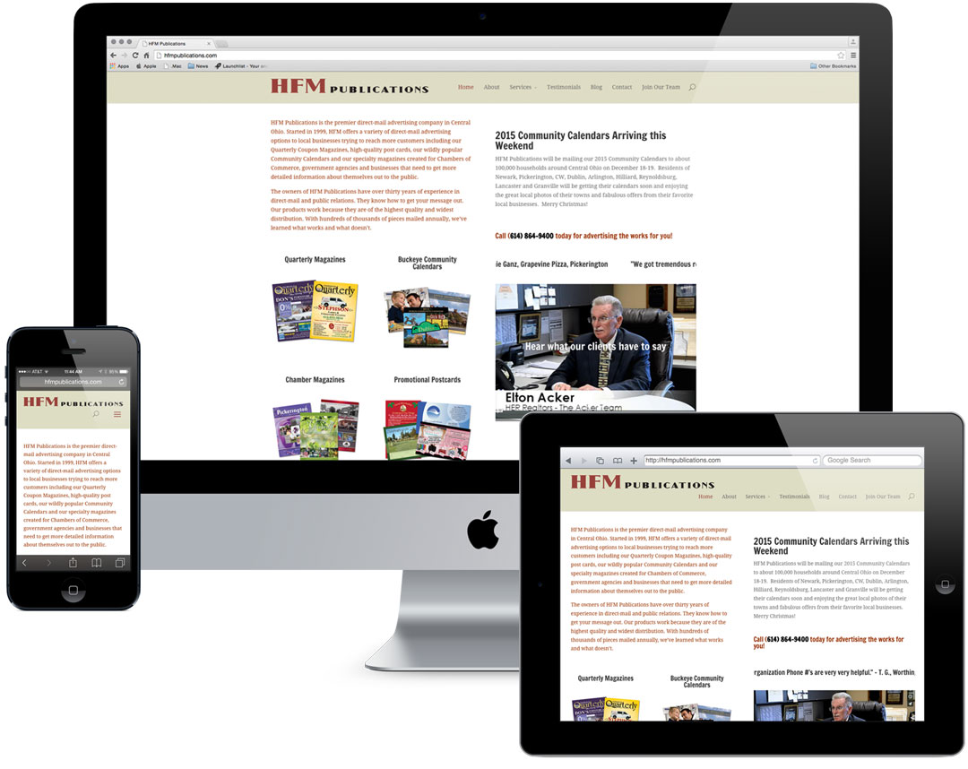 HFM Publications Website