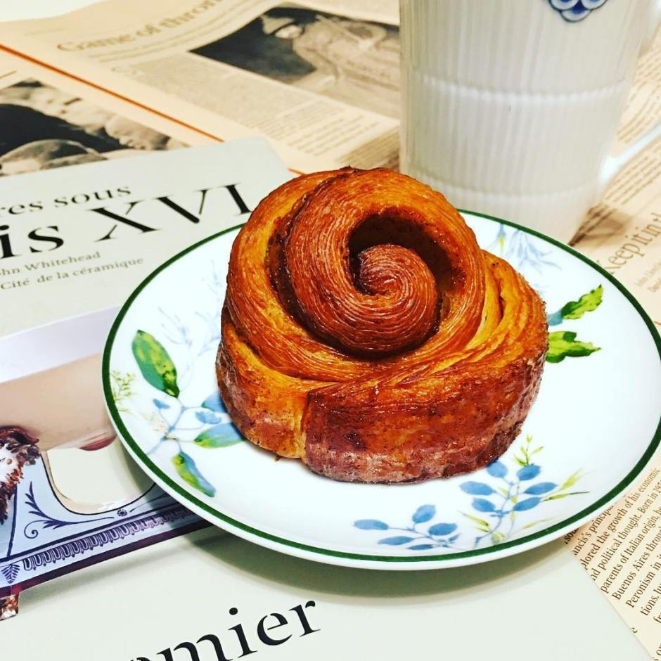 Bonjour! Morning bun from purebreadbakery in Taipei morningbun purebread purebreadbakeryhellip