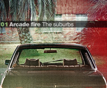 1. Arcade Fire – the suburbs