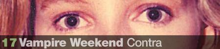17. Vampire Weekend - Contra