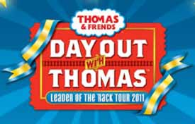 Win 4 Tickets to Day Out with Thomas in North Conway NH