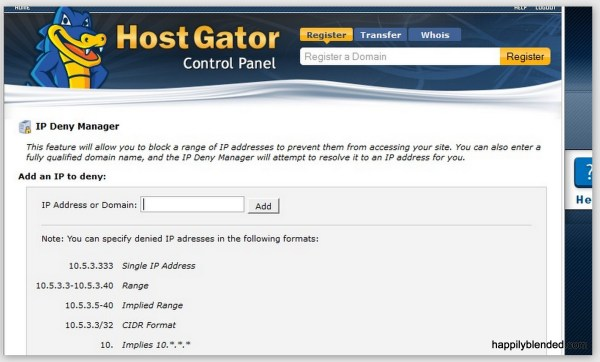 How to Block IP From all Your Sites Using Wordfence and Hostgator