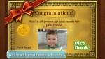Pica Preschool App Congrats